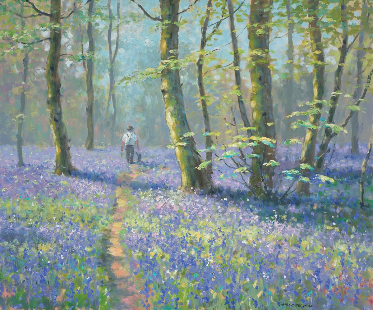 Bluebell (Figure with Hat)